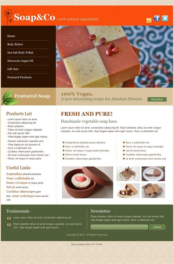 Создание сайта soap учебник для создания сайта на php